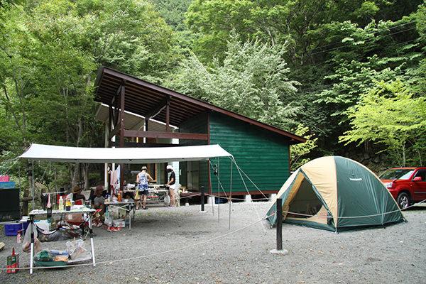 オートキャンプ全2区画